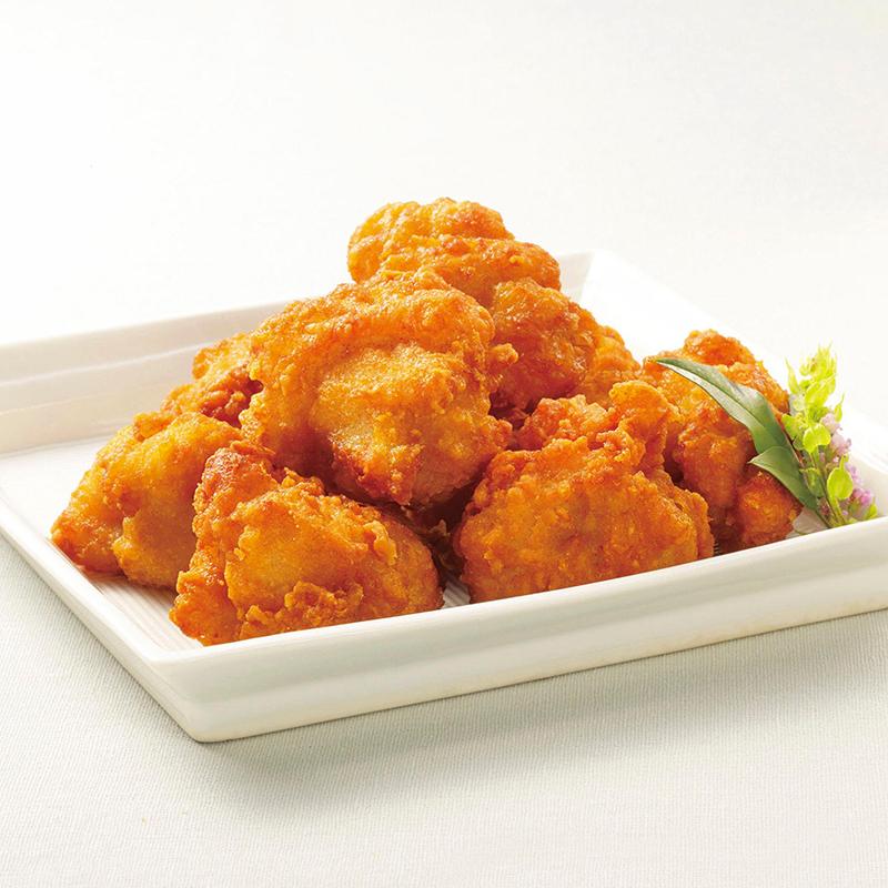 【冷凍】じゅわっと鶏唐揚 1KG (株式会社ニチレイフーズ/鶏加工品/唐揚)