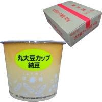 【冷凍】丸大豆カップ納豆(タレ・カラシ付) 40G 40食入 (日東食品/納豆・あげ)