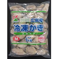 【冷凍】クニヒロ) カキM  1KG (クニヒロ株式会社/貝)