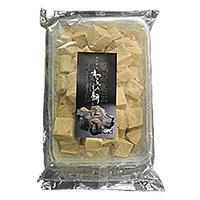 【冷凍】わらび餅 黒糖 1KG (ジーエフシー株式会社/和風デザート)