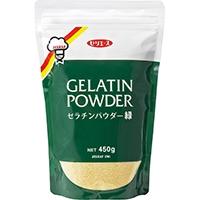【常温】ゼリエース ゼラチンパウダー緑 450G (ジェリフ/デザートの素)