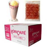 【冷凍】氷カフェいちご 60G 20食入 (アイスライン/シャーベット)