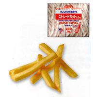 【冷凍】ストレートカット3/8(9.5mm) 1KG (ハインツ日本/農産加工品【冷凍】/ポテト)