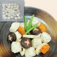 【冷凍】やわらかつみれ(白身魚) 500G (中冷/和風調理品/魚介練物)