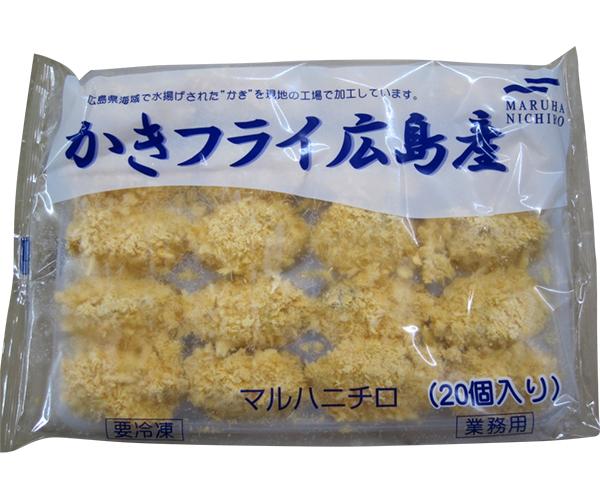 【冷凍】カキフライ(広島産) 500G (マルハニチロ/洋風調理品/フライ)