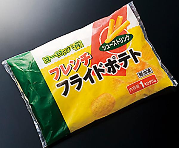【冷凍】欧州産フレンチフライポテトシュースト 1KG (神栄株式会社/農産加工品【冷凍】/ポテト)