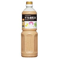 【常温】ダブル焙煎ごまクリーミードレッシング 1L (味の素/ドレッシング/和風)