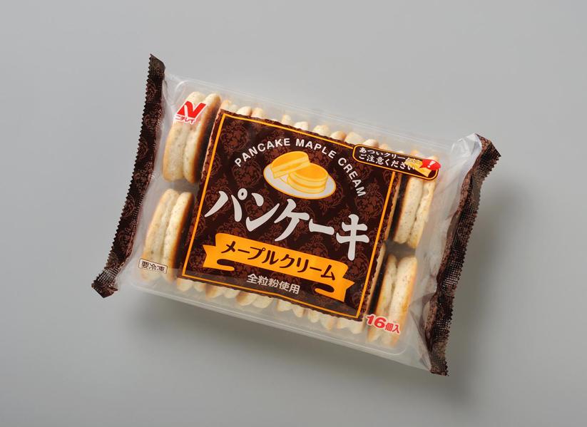 【冷凍】パンケーキ(メープルクリーム) 約28G 16食入 (株式会社ニチレイフーズ/洋風デザート/パンケーキ)