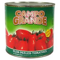 【常温】カンポグランデホールトマト 2500G (株式会社フードライナー/トマト加工品)