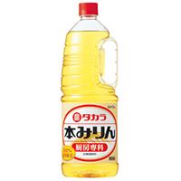 【常温】タカラ本みりん 厨房専科(ペットボトル) 1.8L