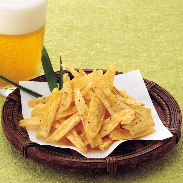 【冷凍】カリッとごぼうチップス 500G (味の素冷凍食品/野菜)