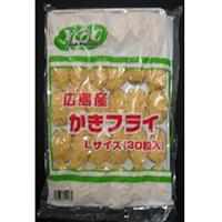 【冷凍】YGC広島産カキフライL  1KG (/洋風調理品/フライ)