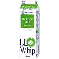 【冷蔵】LLホイップ40(緑) 1L (雪印メグミルク/その他)