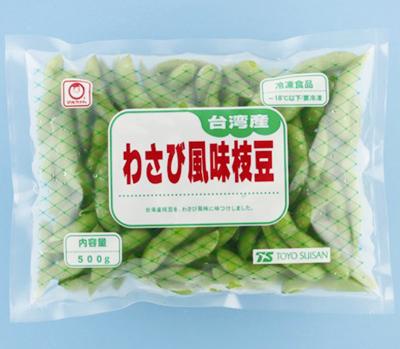 【冷凍】わさび風味枝豆 500G (東洋水産/農産加工品【冷凍】/まめ)