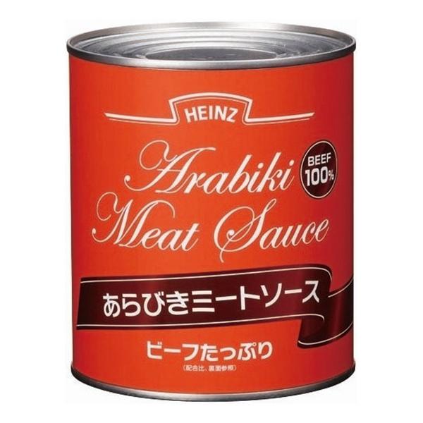 【常温】あらびきミートソース 2号缶 (ハインツ日本/洋風ソース/パスタソース)