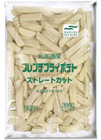 【冷凍】国産フレンチポテトストレート 1KG (マルハニチロ/農産加工品【冷凍】/ポテト)