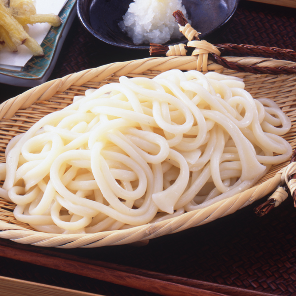 【冷凍】手延べ勝りうどん 250G 5食入 (シマダヤ株式会社/和風調理品/うどん)