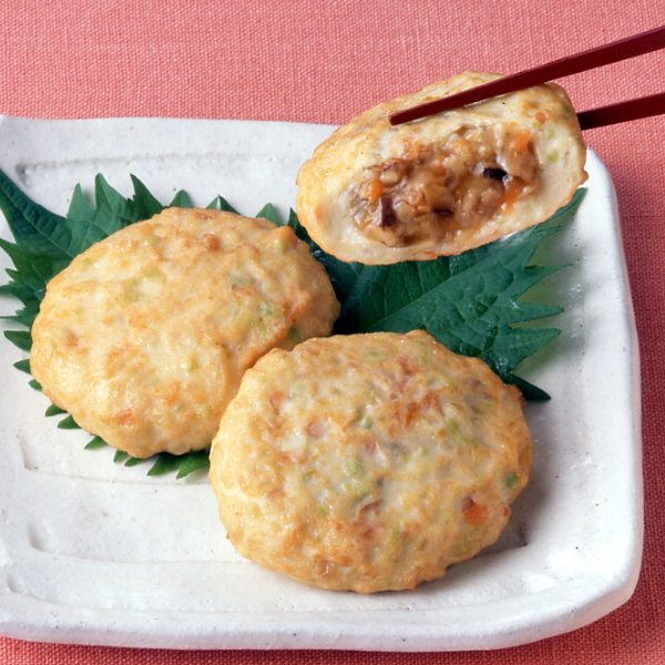 【冷凍】豆腐のそぼろあん包み 50G 10食入