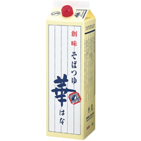 【常温】そばつゆ(華) 1.8L (株式会社創味食品/和風つゆ/めんつゆ)
