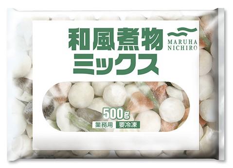 【冷凍】和風煮物ミックス 500G (マルハニチロ/煮物)