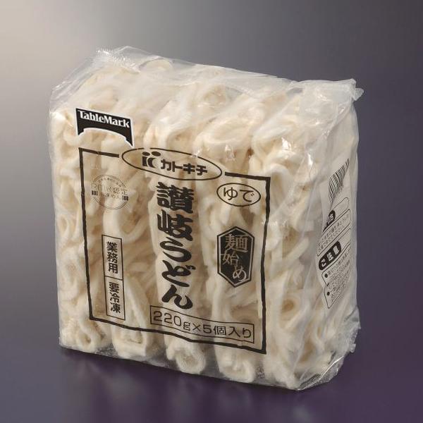 【冷凍】麺始め 讃岐うどん(緑) 250G 5食入 (テーブルマーク/和風調理品/うどん)