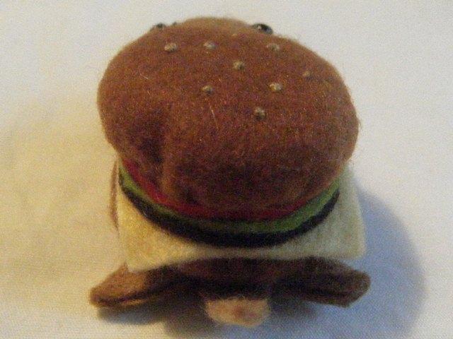 カメロク屋 バーガー亀 チーズバーガー