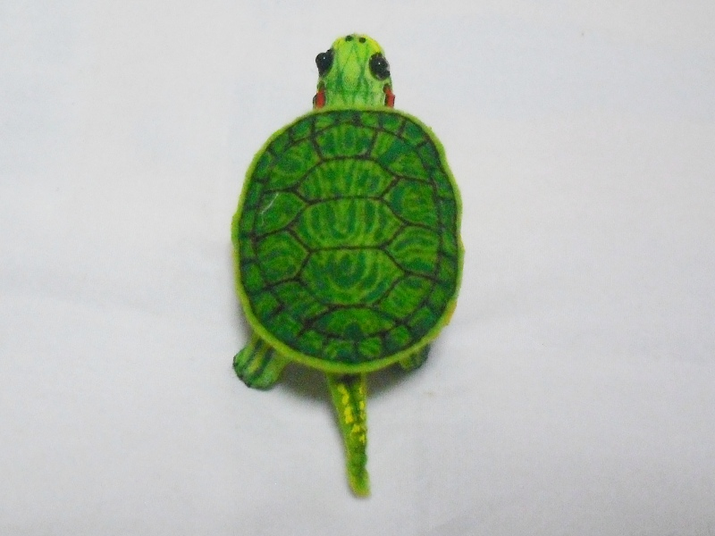 カメロク屋 立体亀図鑑 ミシシッピアカミミガメ 【4種類】