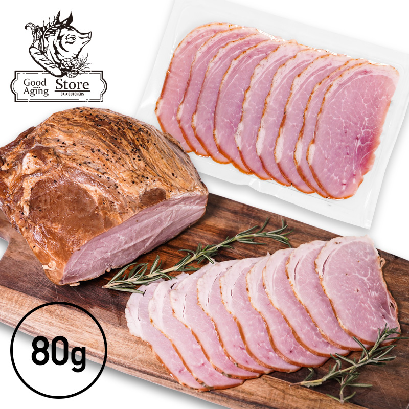 【100g】 スモークボンレスハム │ 香りと味わいの豊かさが魅力の自家製ボンレスハム。サンドイッチ等にもオススメ◎