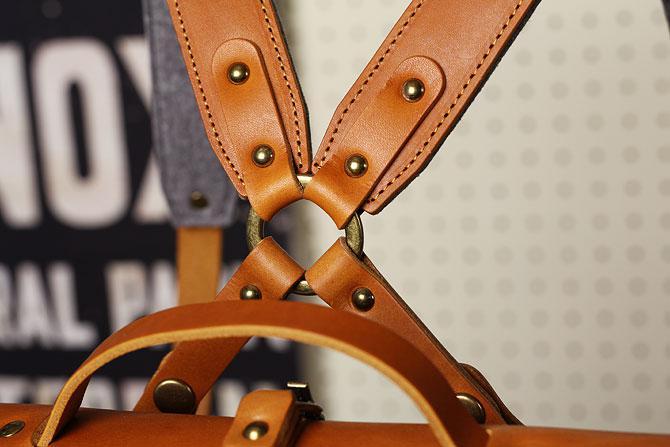 リュックサック メンズ ドゥーマンフレイバー帆布×栃木レザー ヌメ革 シーガルシップ smic 083 A4