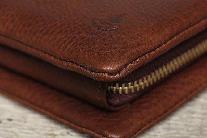 二つ折り財布 メンズ ミネルバボックス バギーポート BAGGY PORT 本革 lzys 8001 バダラッシィ・カルロ社製