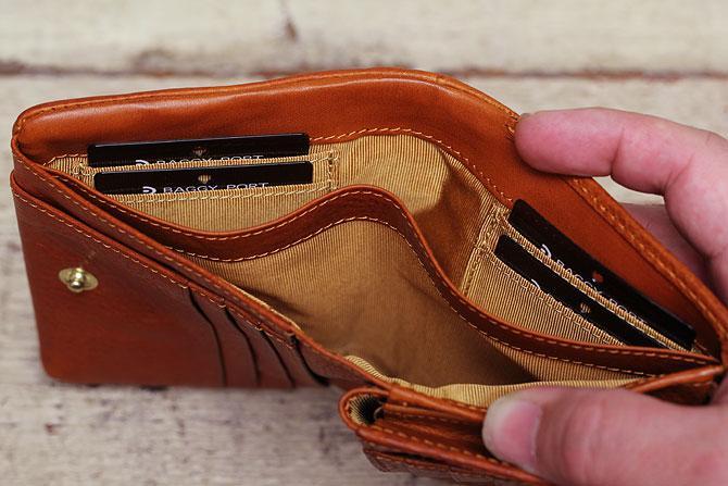 ハーフ折り財布 メンズ ミネルバボックス バギーポート BAGGY PORT 本革 lzys 8002 バダラッシィ・カルロ社製
