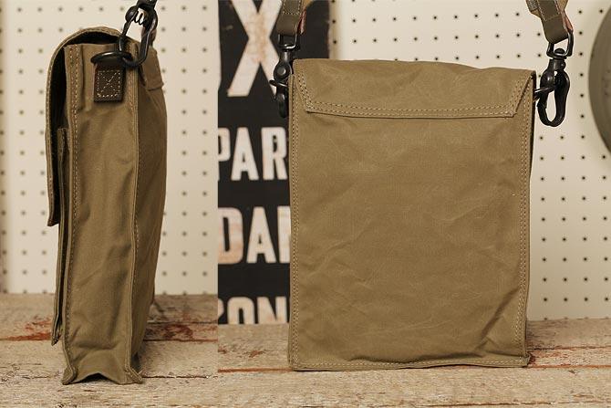 帆布 ミニ ショルダーバッグ ロウ引きハンプ メンズ バギーポート BAGGY PORT ACR-301 A5サイズ