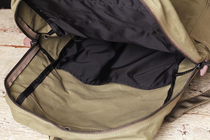 帆布 リュックサック ロウ引きハンプ メンズ バギーポート BAGGY PORT ACR-524 A4サイズのデイパック