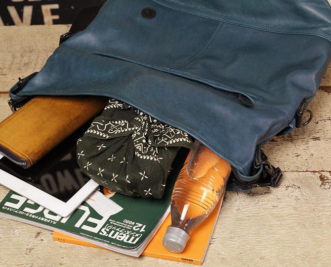 馬革 2way ショルダーバッグ メンズ オイルホースレザー Pray プレイ prshd301 A4