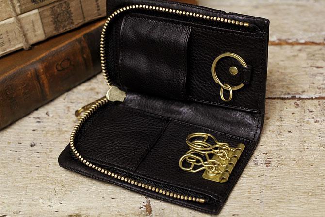 レザー キーケース メンズ ミネルバボックス バギーポート BAGGY PORT 本革 lzys 8006 バダラッシィ・カルロ社製 スマートキー・インテリジェントキー対応