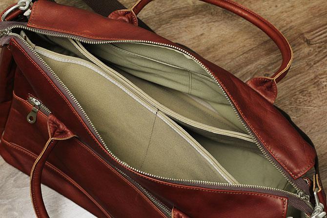 革と帆布 3層式 ボストンバッグ メンズ グローブレザー バギーポート ynm 209 2泊3日
