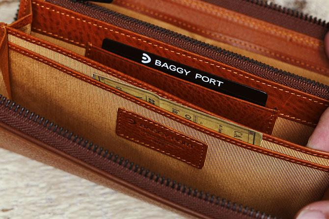 ラウンド財布 メンズ ミネルバボックス バギーポート BAGGY PORT 本革 zys 1300 バダラッシィ・カルロ社製