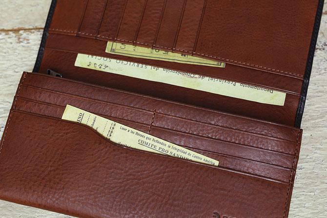 メンズ かぶせ束入れ 長財布 ミネルバボックス バギーポート BAGGY PORT 本革 zys 1301 バダラッシィ・カルロ社製