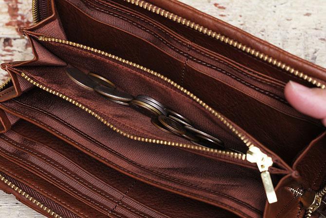 ラウンド財布 メンズ ミネルバボックス バギーポート BAGGY PORT 本革 lzys 8000 バダラッシィ・カルロ社製