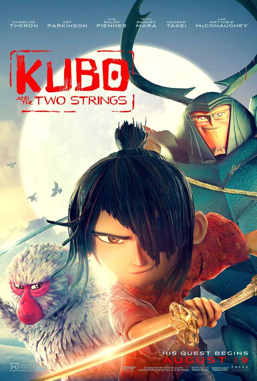 「KUBO/クボ 二本の弦の秘密」海外版デザイン ポスター2種付き ブルーレイ
