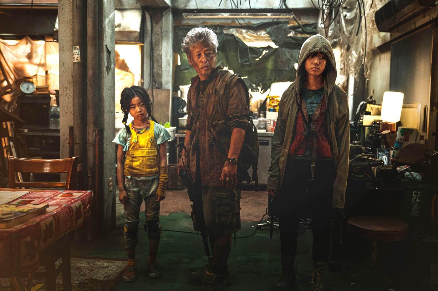 「新感染半島 ファイナル・ステージ」4K ULTRA HD & Blu-ray<2枚組>GAGA★ONLINE STORE限定アウタースリーブ&プレス付き