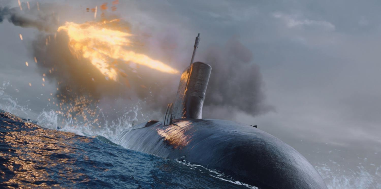「ハンターキラー 潜航せよ」4K ULTRA HD+ブルーレイ(2枚組) GAGA★ONLINE STORE限定ジャケットデザイン