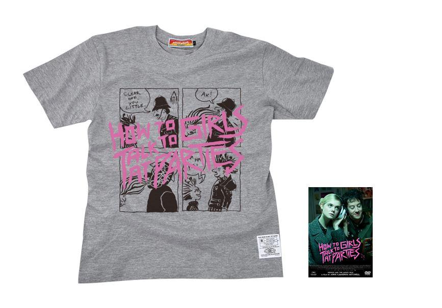 「パーティで女の子に話しかけるには」Tシャツ(ミックスグレー)付き DVD