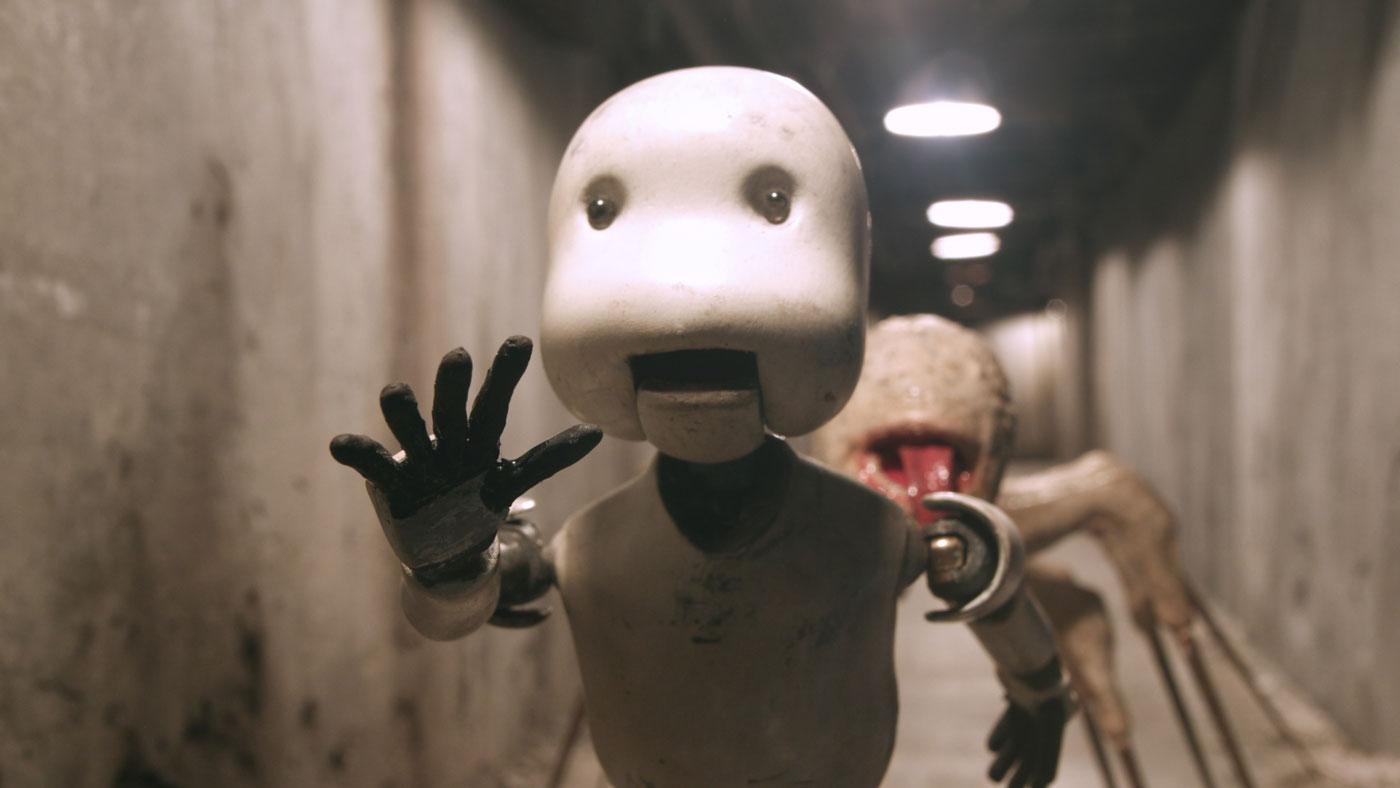 映画「JUNK HEAD」ハードコアチョコレート/GAGA★ONLINE STORE別注カラーTシャツA