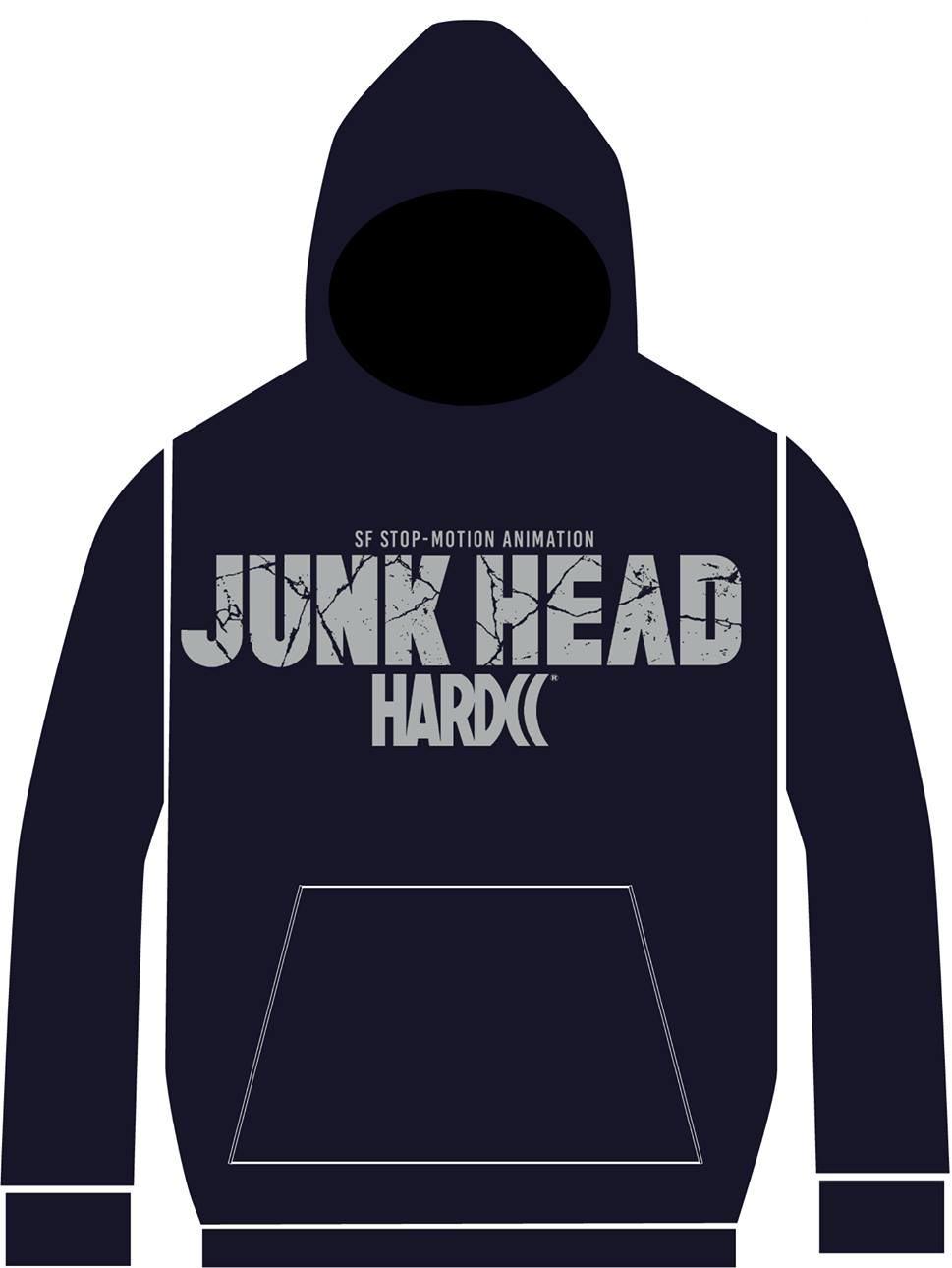 映画「JUNK HEAD」ハードコアチョコレート/GAGA★ONLINE STORE別注カラーパーカー