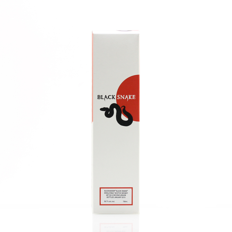 BLACKADDER BLACK SNAKE VAT No.9 2ND VENOM BOTTLED EXCLUSIVELY FOR JAPAN 58.7%