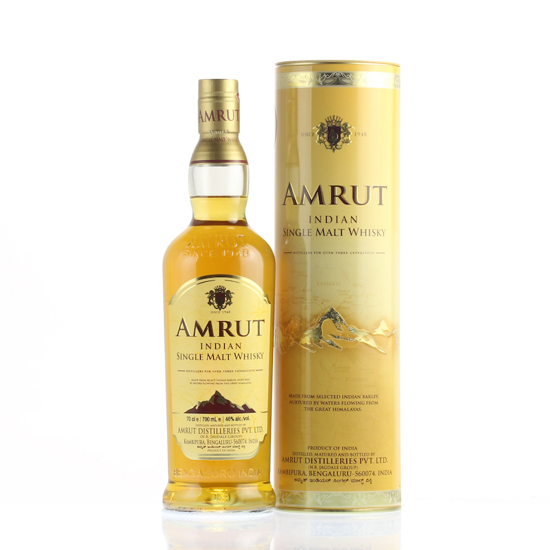 AMRUT INDIAN SINGLE MALT WHISKY 46%