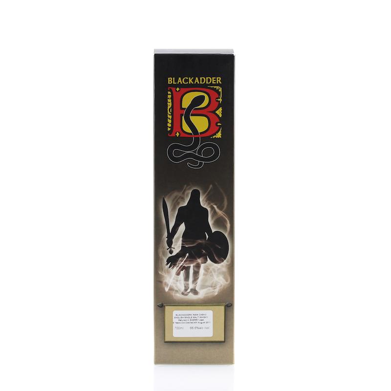BLACKADDER RAW CASK ENGLISH SINGLE MALT WHISKY 2011 6yo SHERRY CASK Cask No.870 66.6%