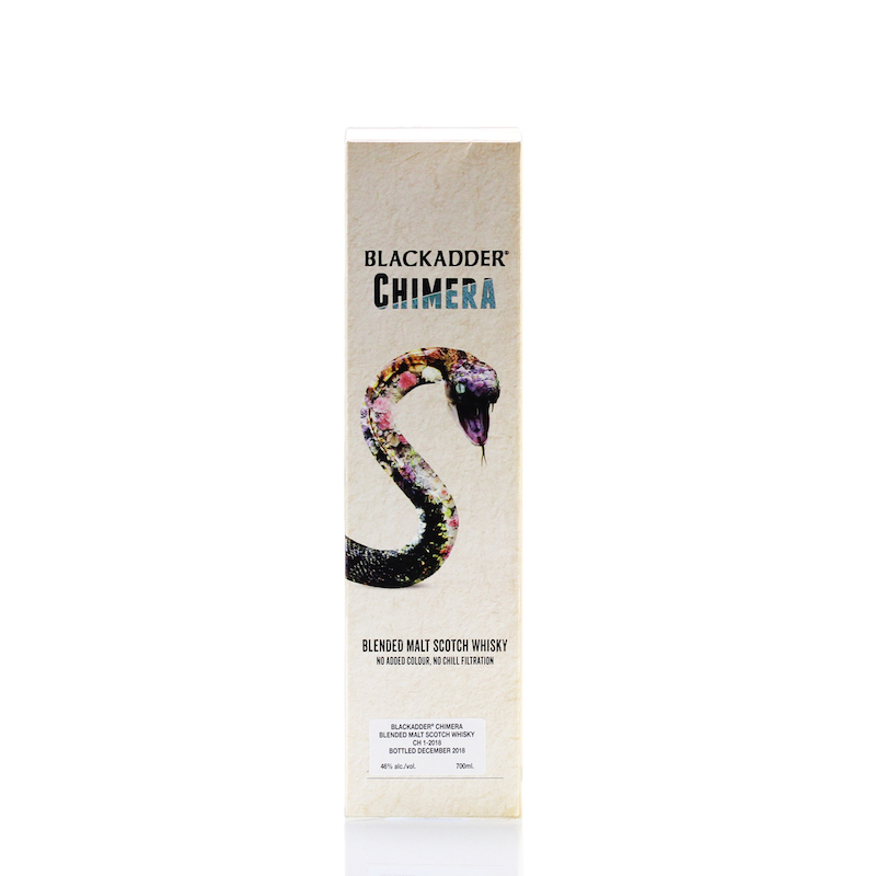 BLACKADDER BLENDED MALT SCOTCH WHISKY CHIMERA Cask Ref:CH1-2018 46%