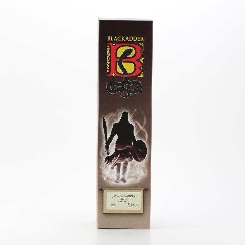 BLACKADDER RAW CASK JAMAICA HAMPDEN RUM 2000 14yo Cask Ref:2015-019 57.4%